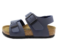 Birkenstock New York sandal marinblå (medium-bredd)