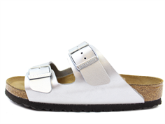 Birkenstock Arizona sandal silver (medium-bredd)
