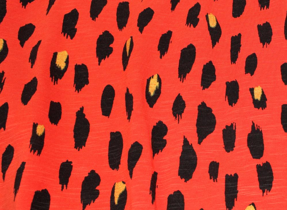 Soft Gallery Clea klänning flame scarlet pebbles mega f04390067ec29