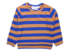 Mini Rodini t-shirt blockstripe blå