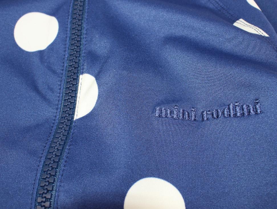 Mini Rodini baddräkt dot marinblå UV 49e2bc7be72f8