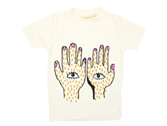 Soft Gallery Aulona t-shirt gardenia hands