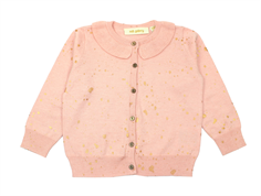 Soft Gallery Baby Cici kofta pale blush gold cosmo