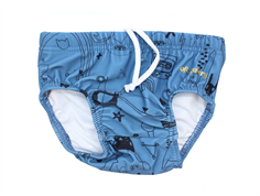 Soft Gallery Miki badshorts copen blue quirky UV