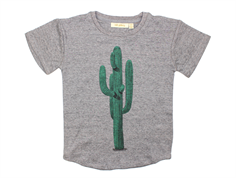 Soft Gallery Norman t-shirt grey kaktus