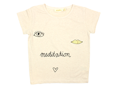 Soft Gallery Pilou t-shirt cream melange meditation
