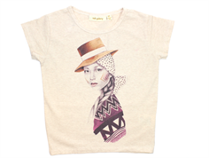 Soft Gallery Pilou t-shirt pioneer cream melange