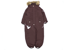 Wheat Miley overall eggplant